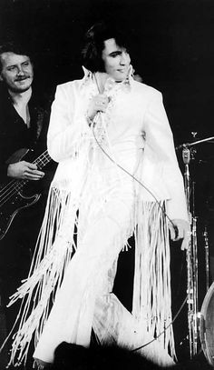 Elvis in the L.A. Forum, 1970