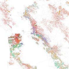 ethnicity in bay area / eric fischer