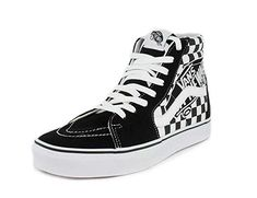 3fc9de5ee4 Vans Unisex SK8-Hi Patch Suede Textile Trainers  Vans  Amazon.ca  Shoes    Handbags · High Top ...