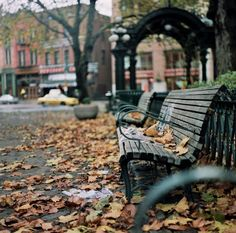 benches by One Eye Open, via 500px