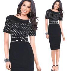 mulher atraente virtuosa moda evangelica e executiva vestido vestidos verao…
