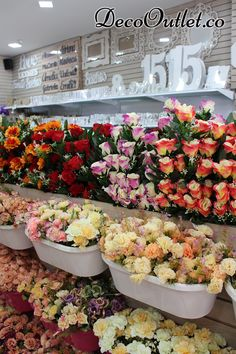 Follaje, Flores artificiales