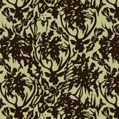 Deer Antler/Zebra Fabric from Spoonflower