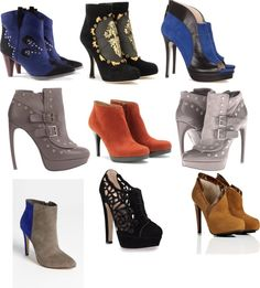 """""""Ankle Boots"""" by va-styles on Polyvore"""