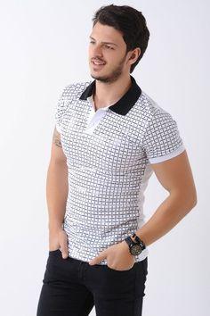 Kabartma Desen Polo Yaka Beyaz T-Shirt #giyim #indirim #kampanya #bayan #erkek #bluz #gömlek #trençkot #hırka #etek #yelek #mont #kaşe #kaban #elbise #abiye #büyükbeden #tunik #tulum #askılı #kapri #şort #pantolon #yenisezon #moda