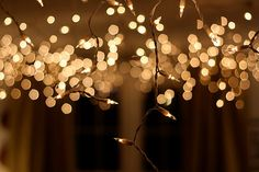 Twinkle lights for New Years Eve How to Throw a New Years Party