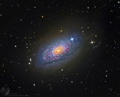 Messier 63: The Sunflower Galaxy. APOD, March 13, 2014. See explanation. image credit: Bill Snyder (at Sierra Remote Observatories).