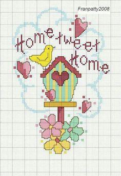 Casa pájaros. Home tweet home