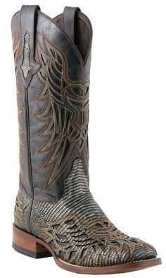 4a7b0cd98b080e TWF Womens Lizard Boots Cowgirl Boots
