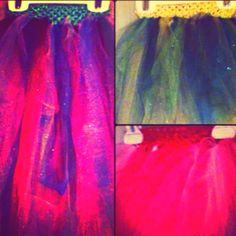DIY Tutus! Cute and SO simple to make! As often as Jamison wears them I can't make them fast enough!