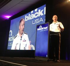 NSA Director Heckled At Conference