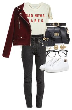 """Untitled #23687"" by florencia95 ❤ liked on Polyvore featuring Vetements, Christian Dior, Eytys, Yves Saint Laurent and A.P.C."