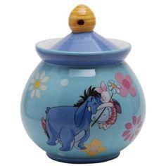 Westland Giftware Disney Winnie The Pooh Hug a Friend Ceramic Sugar Jar, 6 oz, Multicolor Winnie The Pooh Friends, Disney Winnie The Pooh, Pooh Bear, Tigger, Eeyore Pictures, Westland Giftware, Sugar Jar, Sugar Bowls, Disney Cups