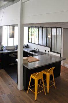 Veranda between the kitchen and the hallway - Verrières-d'intérieur - Ghislain