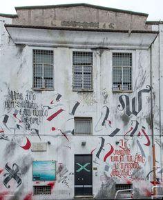 StreetArtRoma: Senza Titolo | Brus | 2012 | Zona: Ostiense | #art #streetart #roma