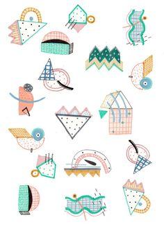 illustration, pattern, print, pattern design, print design, clothing design…