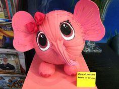 pink elephant pumpkin...love!!!