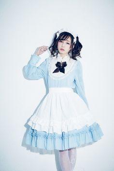 "mademoiselle-puppet: """"Yui Minakata in Tiered Alice Long Sleeve OP "" """