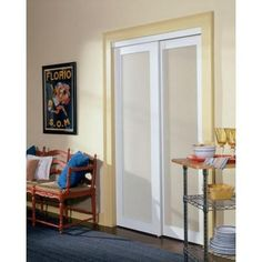 2010 Series Off White 1 Lite Composite Universal Grand Sliding Door