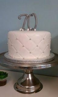 Love the quilted design, i would like to do that on the cake