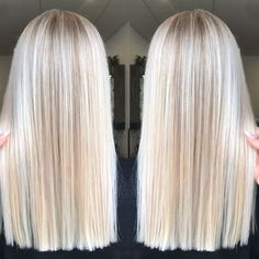 Blonde Hair Looks, Blonde Hair With Highlights, Brown Blonde Hair, Platinum Blonde Hair, Blonde Balayage, Cool Toned Blonde Hair, Super Blonde Hair, Bright Blonde Hair, Blonde Hair Shades