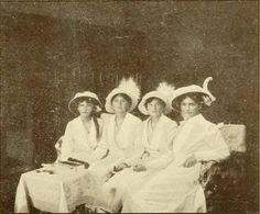 The Grand Duchesses in 1914.A♥W