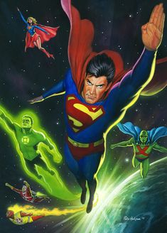 Superman Space Flight by Habjan81.deviantart.com on @deviantART