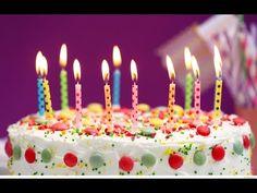 ΕΥΧΕΣ ΓΕΝΕΘΛΙΩΝ - YouTube Online Birthday Cake, Image Birthday Cake, Happy Birthday Cake Pictures, Happy Birthday Wishes Cake, Happy Birthday Wallpaper, Happy Birthday Messages, Cool Birthday Cakes, Happy Birthday Cakes, Birthday Images
