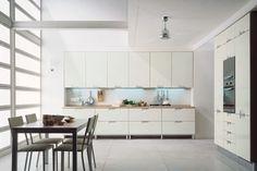 Glazed White Kitchen Design
