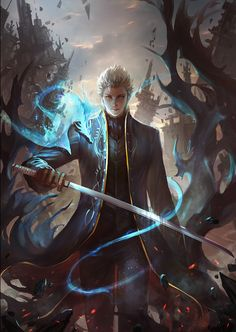 Vergil looking badass!