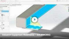 Weldments are common components in industrial machines and can pose design challenges for machine designers. From welded plate brackets to large frames made from structural steel, SOLIDWORKS has the tools to swiftly create and accurately document your weldment designs to meet those ever tightening production schedules.  #design #solidworks #machining #industrialdesign #weldment #IndustrialEquipment #productdesign #productdevelopment #IndustrialEquipmentDesign #PackagingMachinery