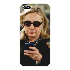 """Don't stop thinking about... 2016.  If you're """"Ready for Hillary,"""" you need this Hillary iPhone 5 Case."""