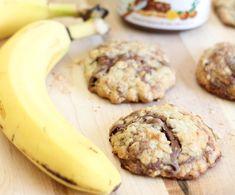 Τέλεια μπισκότα με nutella και μπανάνα. Να είσαι σίγουρη ότι τα παιδάκια σου θα τα λατρέψουν!