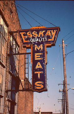 Esskay meats, a Baltimore company made quality deli and hot dogs.  I always loved their bologna!