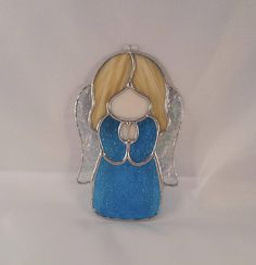 Handmade Stained Glass Angel Suncatcher Angel Decoration