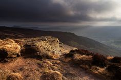 Light on Kinder Scout by Paul Newcombe, via Flickr