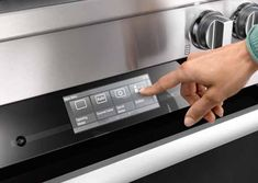 Miele M Touch Controls - Major Kitchen Appliances - New York - by Miele USA Miele Kitchen, Kitchen Stove, Kitchen Cabinets, Major Kitchen Appliances, Infrared Grills, Slide In Range, Range Cooker, New York, Recipes