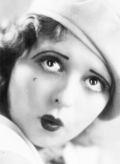 "Clara Gordon Bow (July 29, 1905 – September 27, 1965) was an American actress who rose to stardom in silent film during the 1920s. It was her appearance as a plucky shopgirl in the film ""It"" that brought her global fame and the nickname ""The It Girl"". Bow came to personify the roaring twenties and is described as its leading sex symbol."