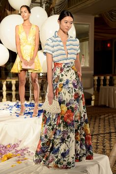I just reacted to Alice + Olivia Spring 2015. Check it out!
