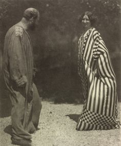 Emilie Flöge and Gustav Klimt.