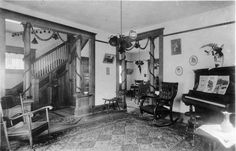 Victorian Homes Interior | cowley county historical museum drawer 1 envelope 8 a index number on ...