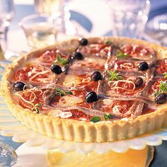 French Tomato Tart + Dry Rosé - Perfect Food & Wine Pairings - Sunset