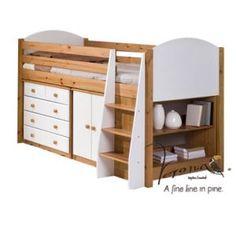 Verona Midsleeper Storage Set