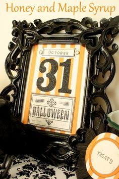 Halloween picture tutorial and table setting