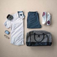 Shirt:PX Clothing //Shorts:PX Clothing //Bag:PX Clothing //Sneakers:Colchester Rubber Co. //Cologne:Duke Cannon //Glasses:Liingo Eyewear //Belt:Anson Belt Trendy Mens Fashion, Urban Fashion Trends, Urban Fashion Women, Fashion Kids, Fashion Design, Fashion 2018, Men's Fashion, Fashion Styles, Style Urban