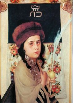 Isidor Kaufmann - Child with Lulav