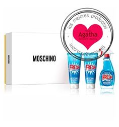 Estuche Moschino Fresh Couture Edt 50 ml + Regalo Gel + Leche. Cofre regalo del perfume Moschino Fresh Couture Eau de Toilette 50 ml.