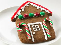 Gather the family to bake and decorate gingerbread houses. Its sweet fun, made easy with cookie mix.