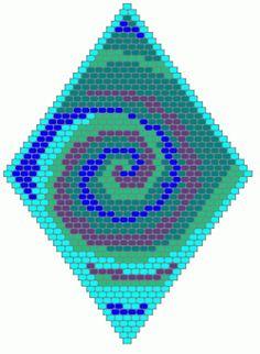 Vortex Beaded Pendant