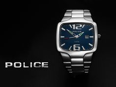Police Wrist Watch - Catalogue image for a Jeweller's sales catalogue. Photographed at Studio Sphere in Nelson, Lancashire for Michael Sewell Photography Ltd > www.sewellshouse.co.uk